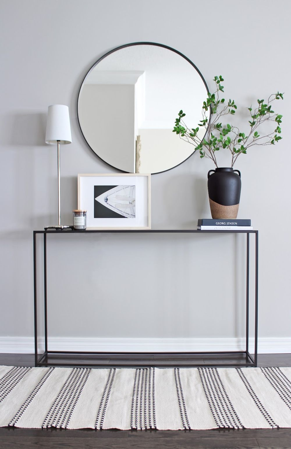 15 Minimalist Scandinavian Console Tables In 2020 Console Table
