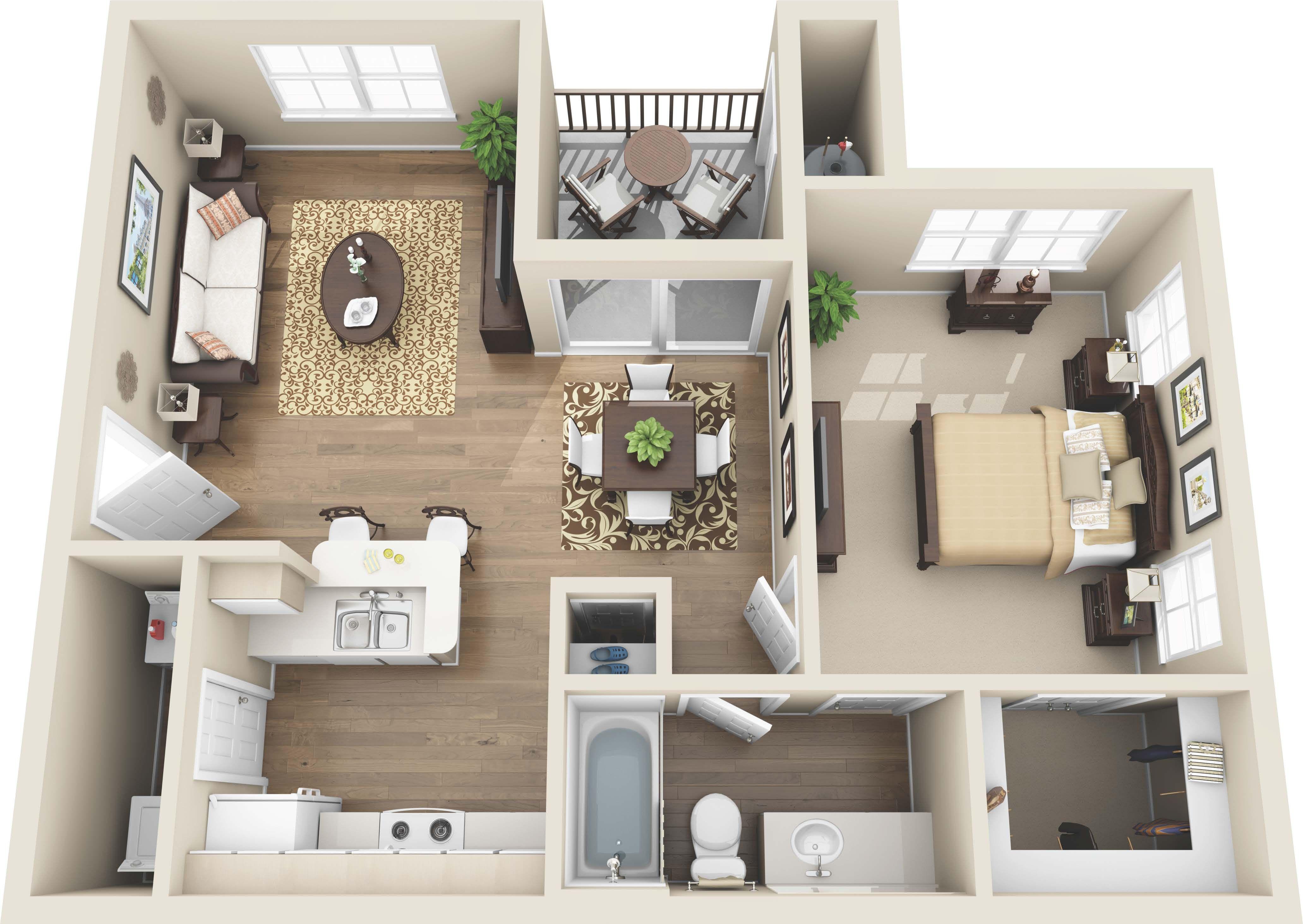 Luxury 1 And 2 Bedroom Colorado Springs Co Apartments Coloradosprings Colorado Apartment Steadfas Sims House Plans House Layout Plans Sims House Design