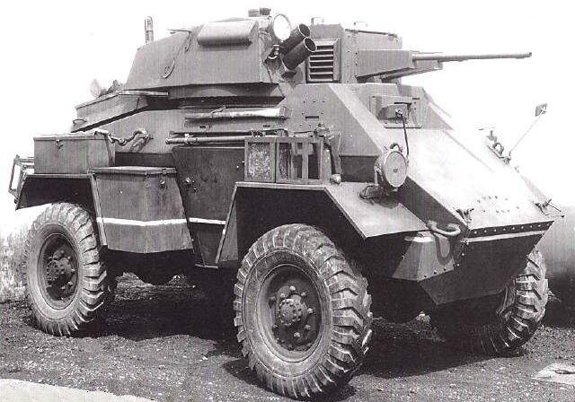 Humber Armoured Car Mk Iii British Tank Armored Vehicles