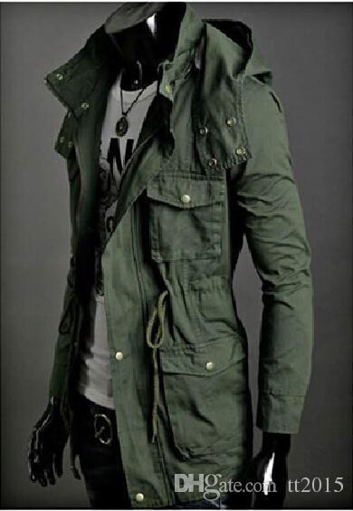 Best Wholesale Brand Mens Hooded Coat Thin Jaqueta Wool Winter ...