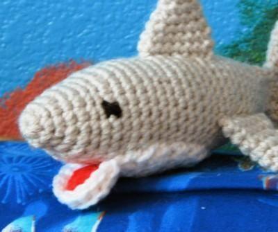 Great White Shark Amigurumi Crochet from Sherri Crochets | Check out ...