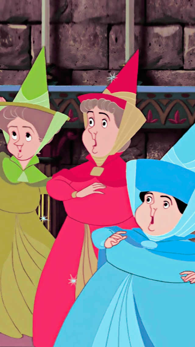 Sleeping Beauty The Fairy Godmothers These Three Are Underrated