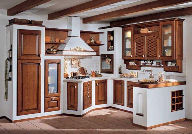 Costruire una cucina in muratura | Il Fai Da Te | Дизайн интерьера и ...