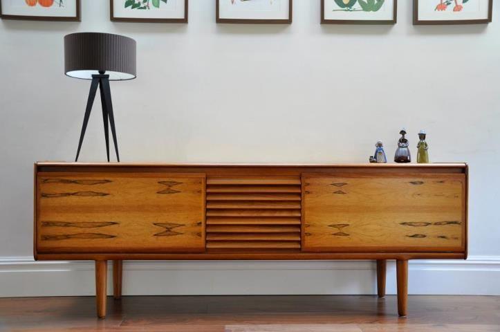 Teak Sideboard By White Newton England 1960s Teak Sideboard