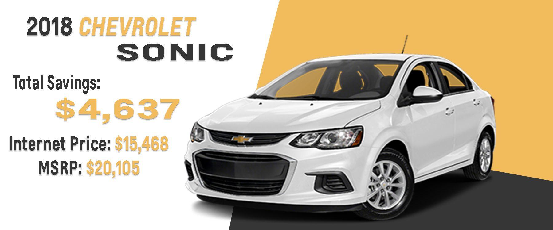 New Chevrolet Sonic in Homewood | Chevy Sonic | Chevrolet