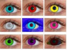 cheap contact lenses inexpensive halloween contact lenses frosty colored and more - Contact Lenses Color Halloween