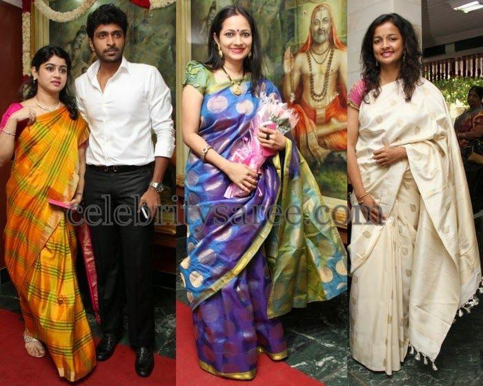 Tamil Actresses Traditional Sarees Celebrities Sarees Pinterest