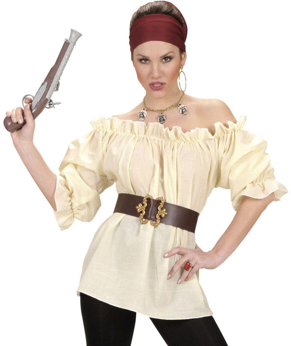 chemise beige pirate femme d guisement de pirate pinterest chemise d guisements et. Black Bedroom Furniture Sets. Home Design Ideas