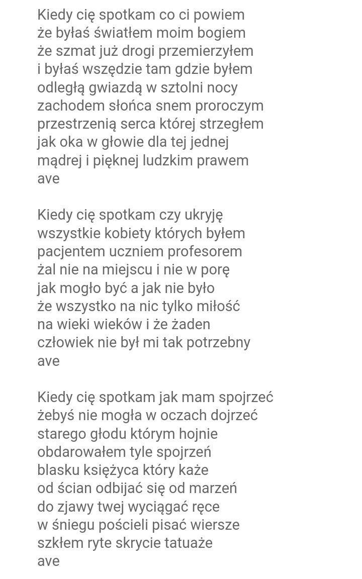 Mirosław Czyżykiewicz Ave Cytaty Wiersze śmieszne