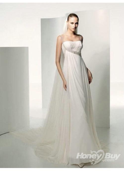 Beach Civil Grecian Style Beautiful Maternity Wedding Dresses ...