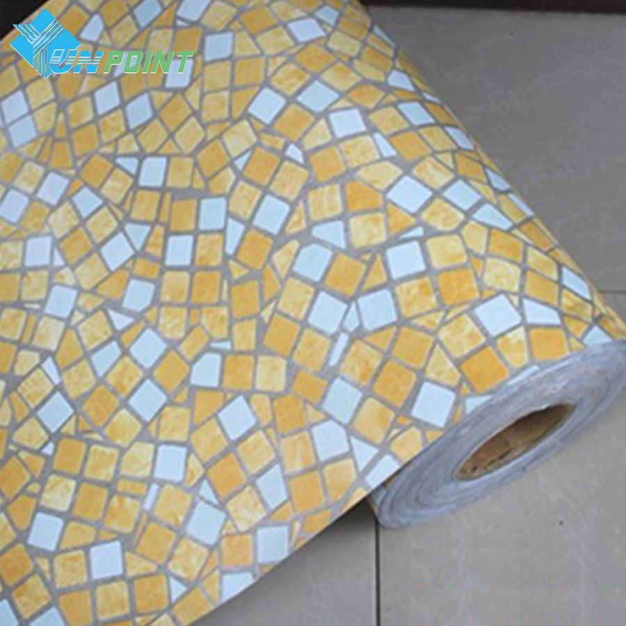 5 Meters Vinyl PVC crushed stone Self adhesive wallpaper for ...