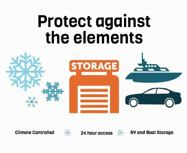 Self storage and portable storage  sc 1 st  Pinterest & Winter is coming which means itu0027s time to protect your valuable form ...