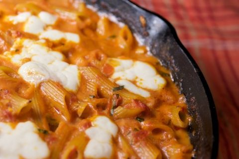 Baked Ziti I Love Pink Sauce This May Be Worth Trying