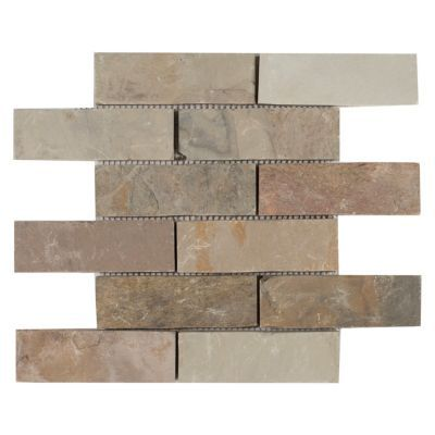 Autumn Brick Slate Mosaic 12in X Floor And Decor