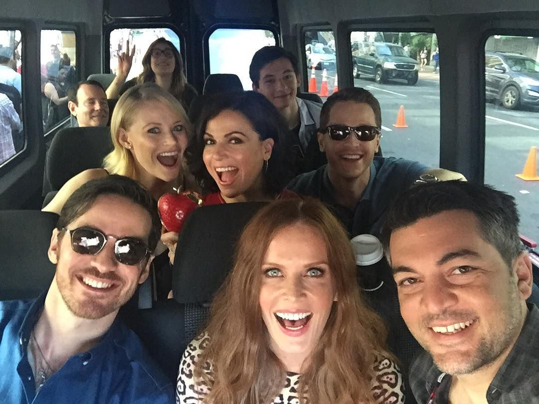 Colin, Rebecca, Josh, Lana, Emilie and Jared headed to San Diego Comic Con 2016