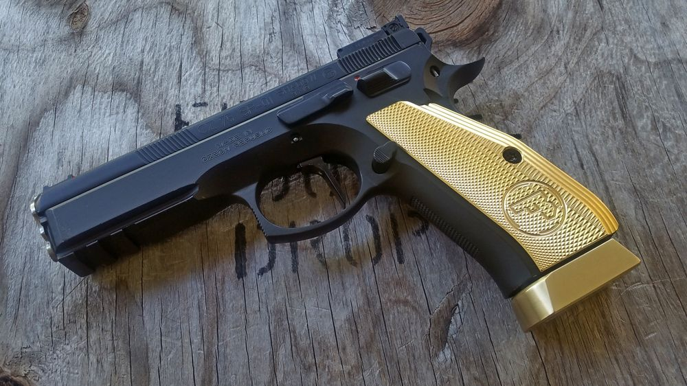 CZ 75 Shadow 2 grips and flat trigger SETS (also for Shadow