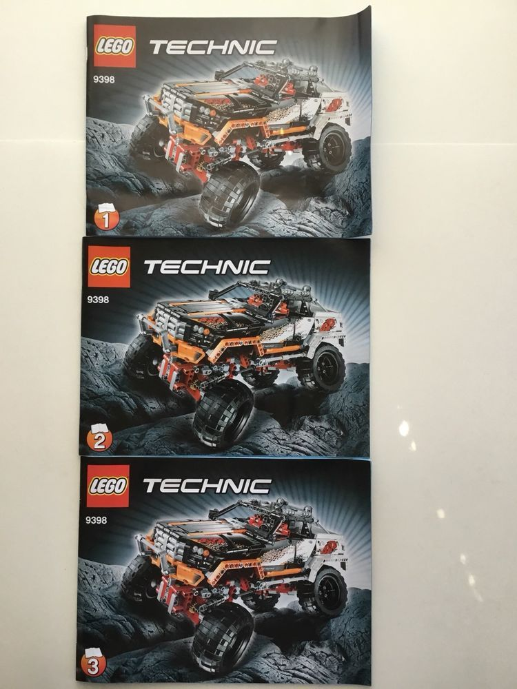 Lego Space Technic Instruction Manual Only Lot Of 3 Same 9398