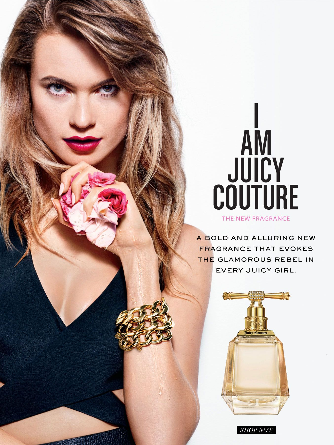 Pin for Later  62 Celebrity Beauty Campaigns That Will Make You Love These  Stars Even More Behati Prinsloo For Juicy Couture 9932a45973