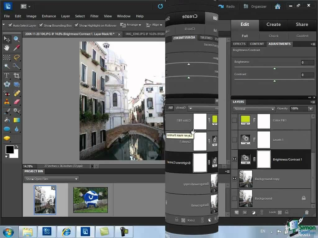 Using Layers in Photoshop Elements 10 - Part 3