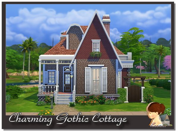 Evanell S Charming Gothic Cottage Pastel Beach Cottage Beach House