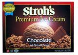 Stroh's Chocolate ice cream