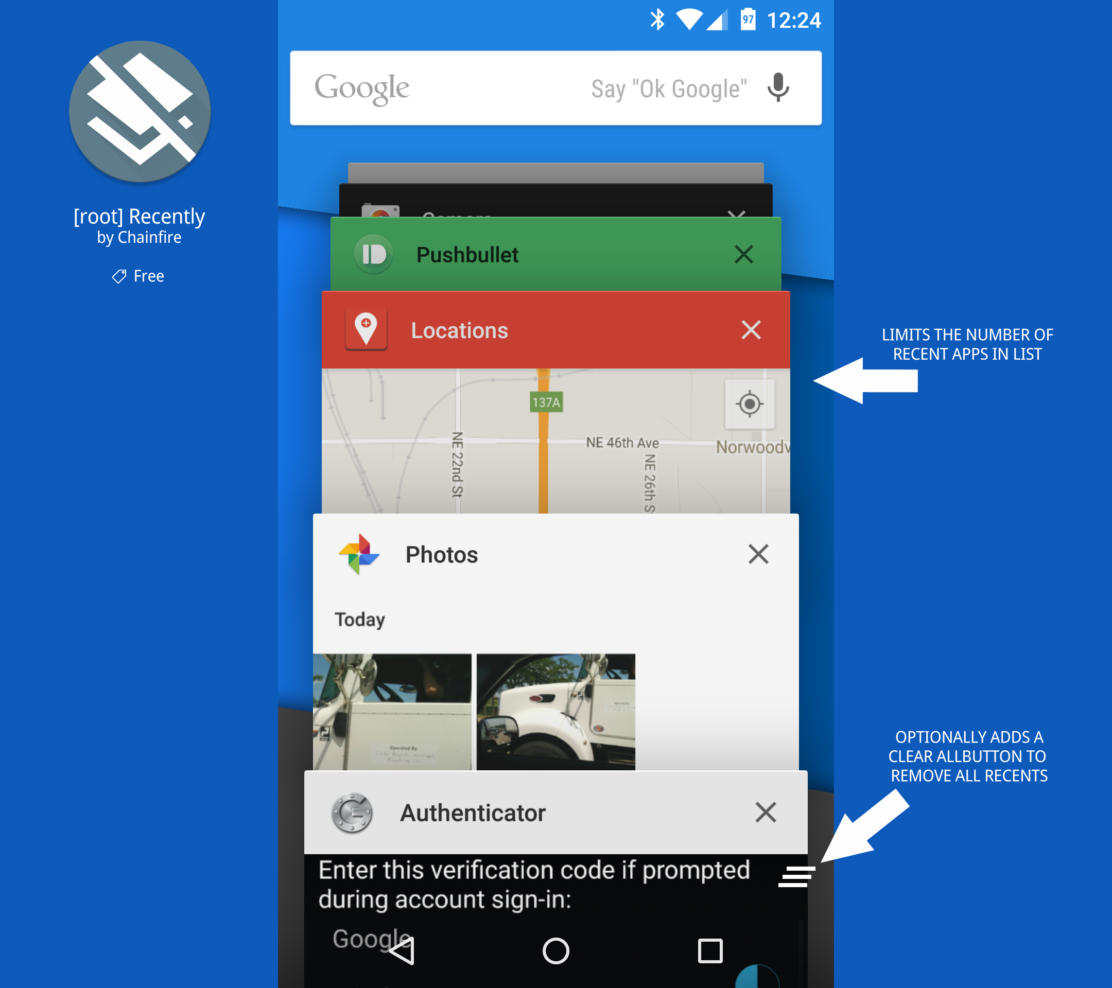 Recently by Chainfire for Android: $Free  Take back control