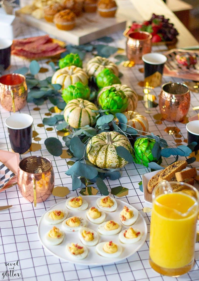 Tips To Hosting Your Best Brunchgiving AD Awesome