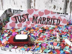 Geldgeschenke Verpacken Blechdosen Fürs Brautauto Hochzeit