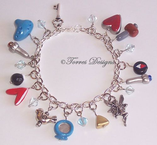 Hand Sculpted A Link To The Past Charm Bracelet By Torresdesigns
