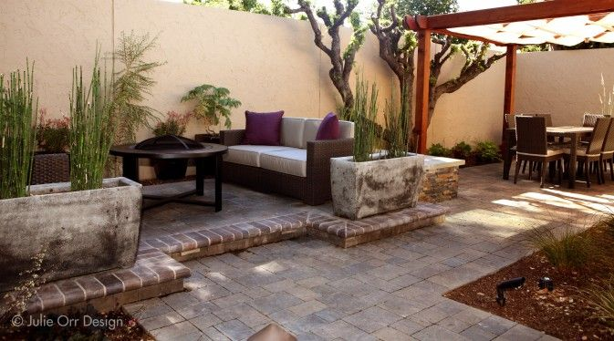 Castlelite Raised Paver Patio With Mcnear Bullnose Edging Designed