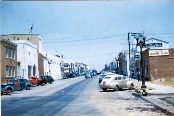 Downtown Inglewood, ca queen st 1940s in 2019 | Inglewood ...