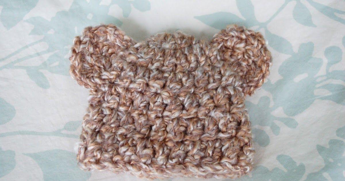Crochet Bear hat | Baby | Pinterest