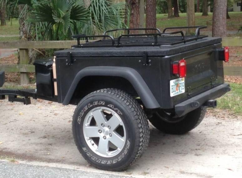 Jeep Trailer Blog Jeep Trailer Jeep Camping Kayak Bike Trailer