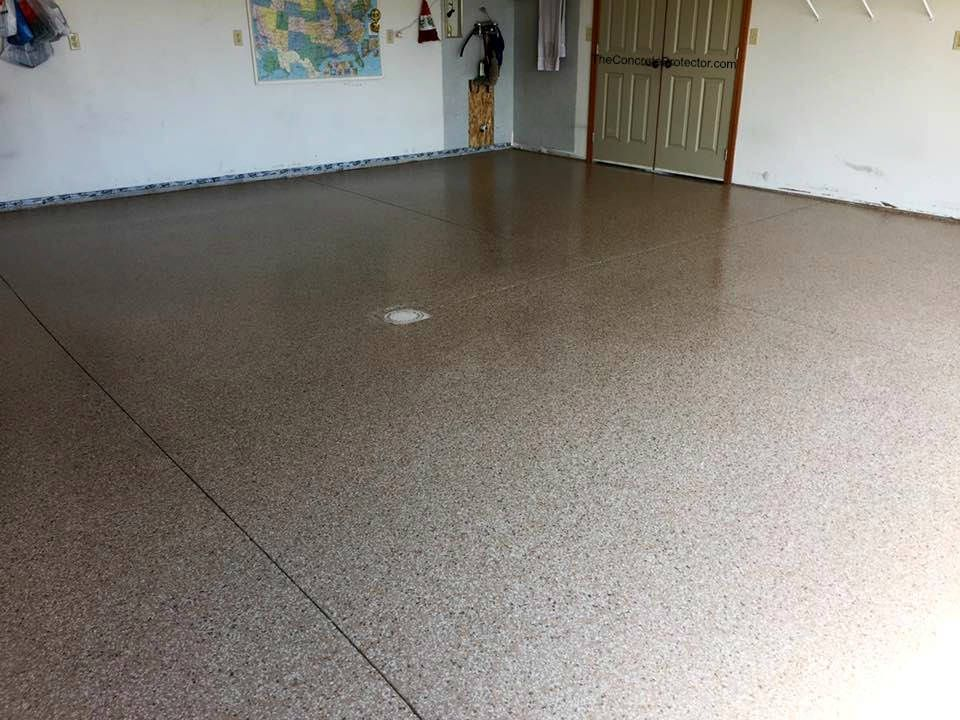 Epoxy Flake Garage Sure Seal Arlington, OH Concrete