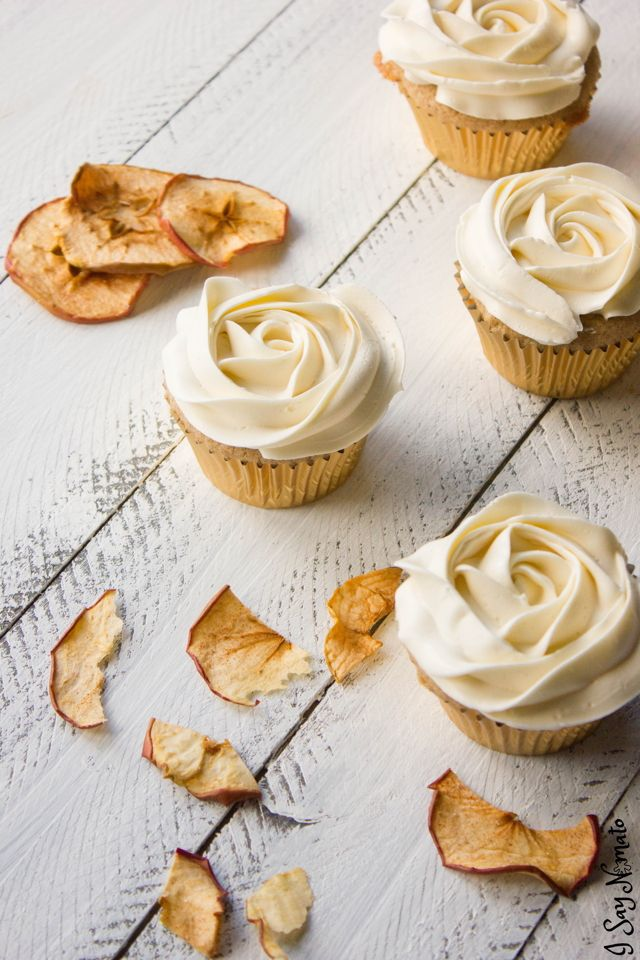 Apple Cider Cupcakes Guest Post Recipe Comfort Food Desserts
