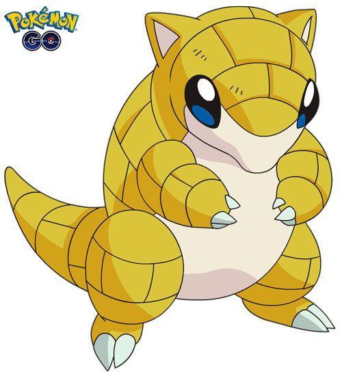 Sandshrew de Pokémon Go (1)