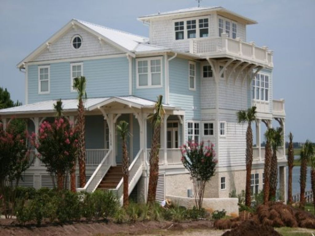 Key west home exterior designs southernmost house key - Coastal home exterior color schemes ...