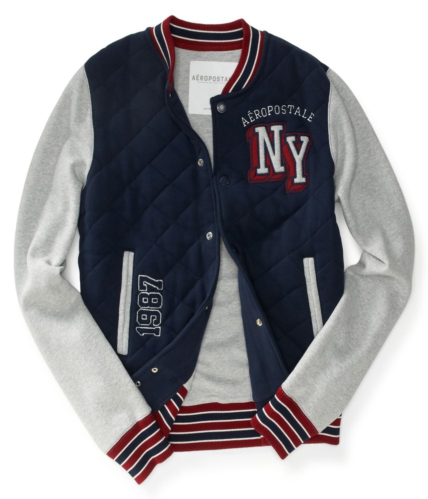 Aero NY Varsity Jacket - Aeropostale   Fashion   Jackets, Clothes ... 391801f5a30a
