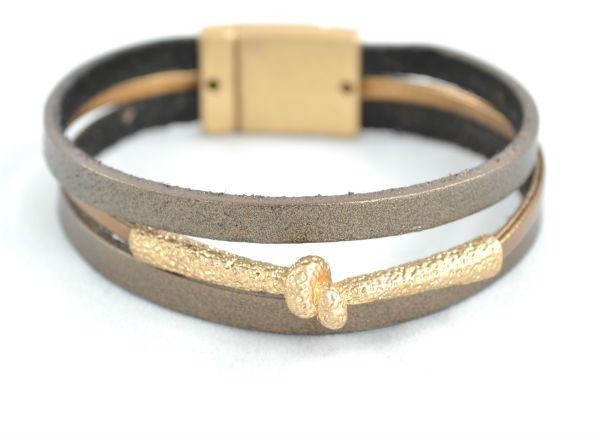 Leather Bronze - Gipsy House Collections   #cuff #leatherbracelet #fashion #style #jewelry