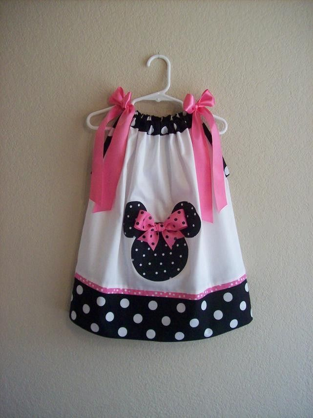 Custom Boutique Pillowcase Dress - MINNIE MOUSE | Stuff for ...