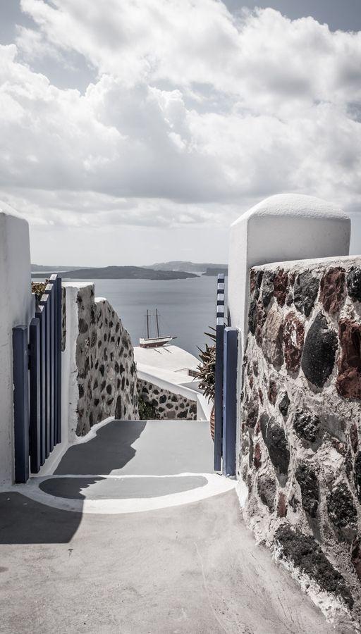 Caldera Path, Oia, Santorini
