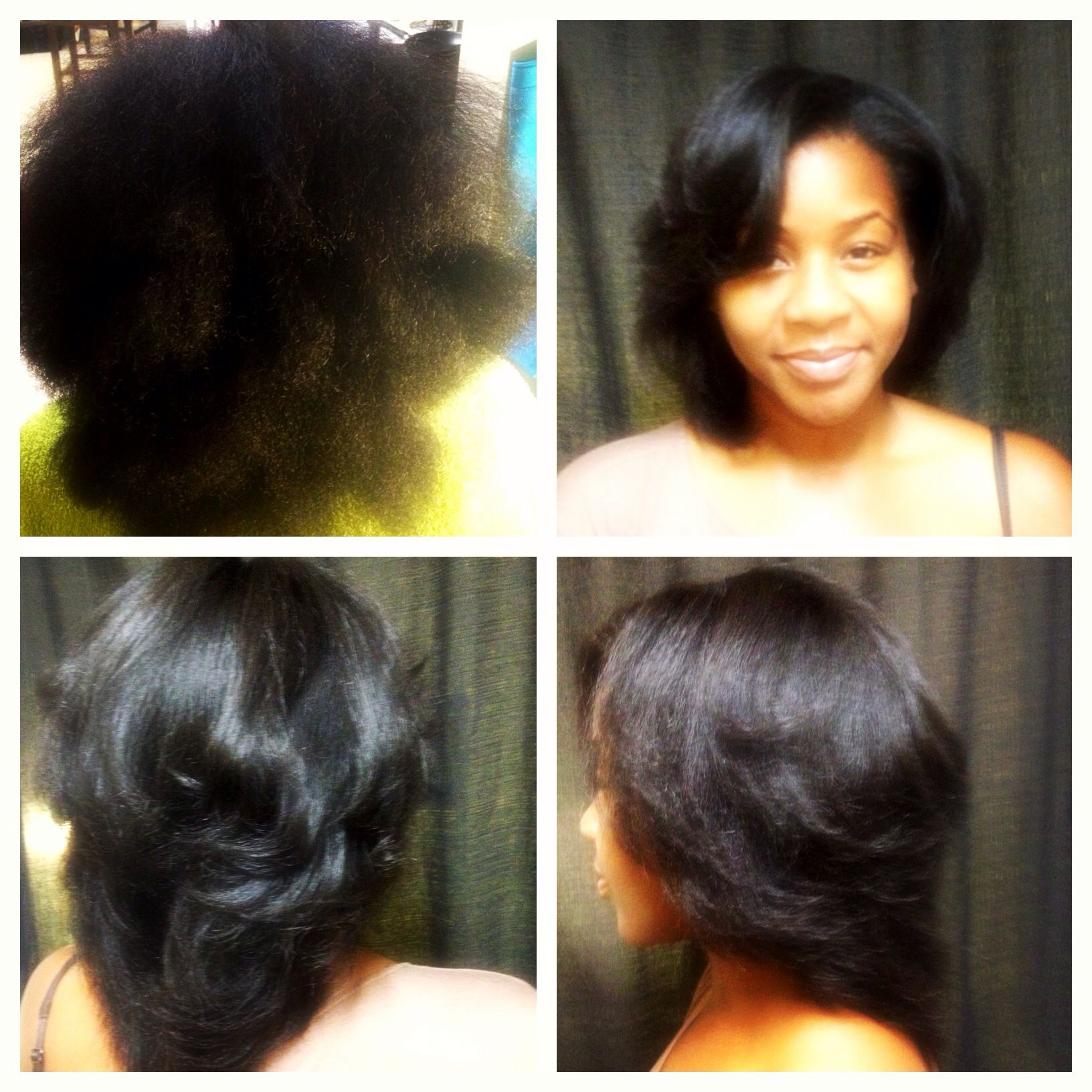 Blowout On Natural Hair By Me Piecesofriche Natural Hair Blowout Natural Hair Styles For Black Women Natural Hair Styles