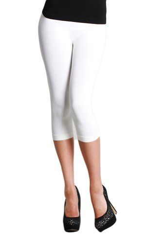 Nikibiki 3/4 Smooth Crop Leggings White Nikibiki http://www.amazon.com/dp/B00JO7ZFLY/ref=cm_sw_r_pi_dp_-bE4vb1XYCKJ8
