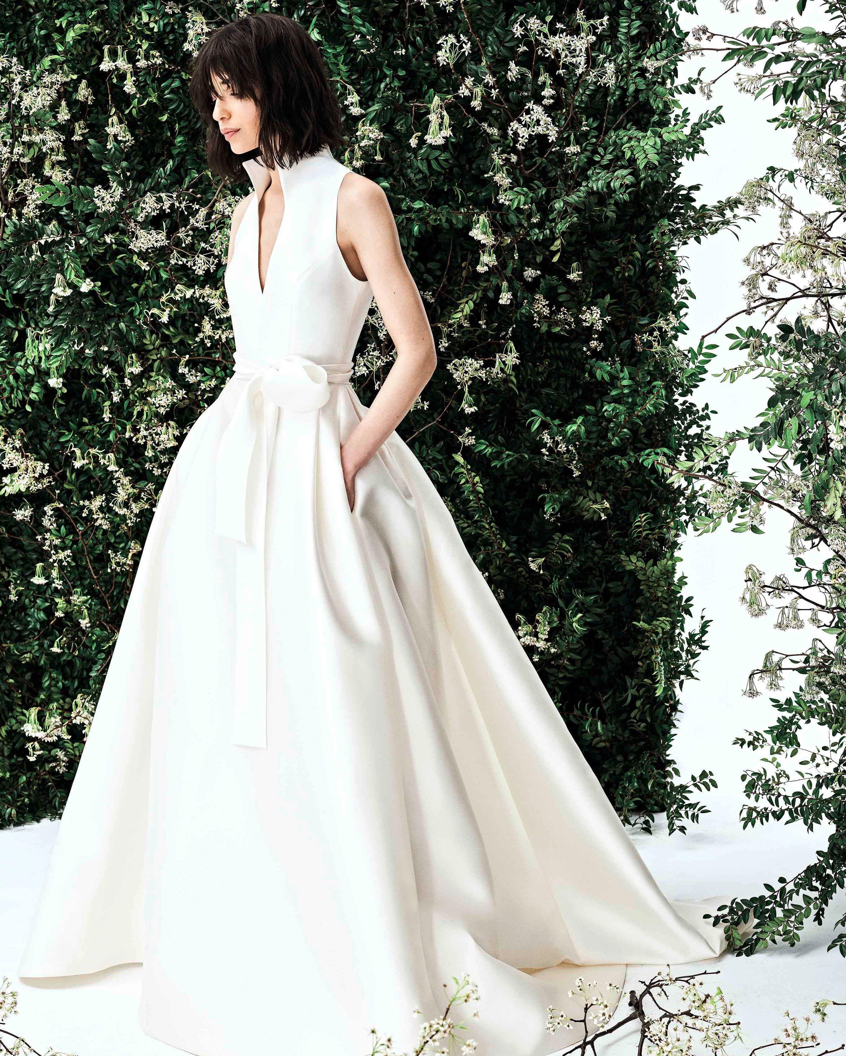 Carolina Herrera Spring 2020 Wedding Dress Collection Carolina Herrera Wedding Dress Carolina Herrera Bridal Herrera Wedding Dress