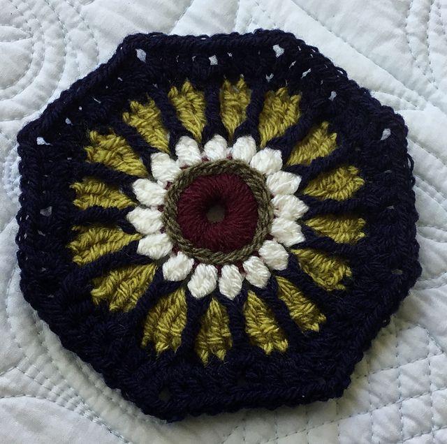 Carousel CAL Blanket – Free Crochet Pattern   Pinterest   Muestras ...