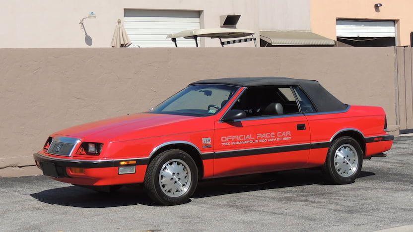 1987 Chrysler Lebaron Convertible T180 Harrisburg 2019