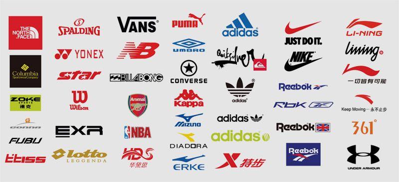 bb1e38c6 10 marcas deportivas | Logos, marcas y productos | Marcas de zapatos ...