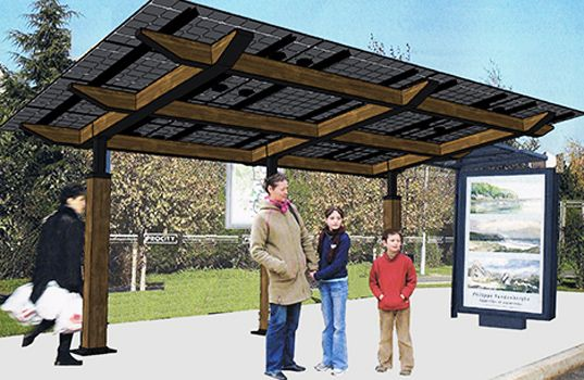 Lumos solar 39 s new solarscape structures provide shade and for Lunos skalar