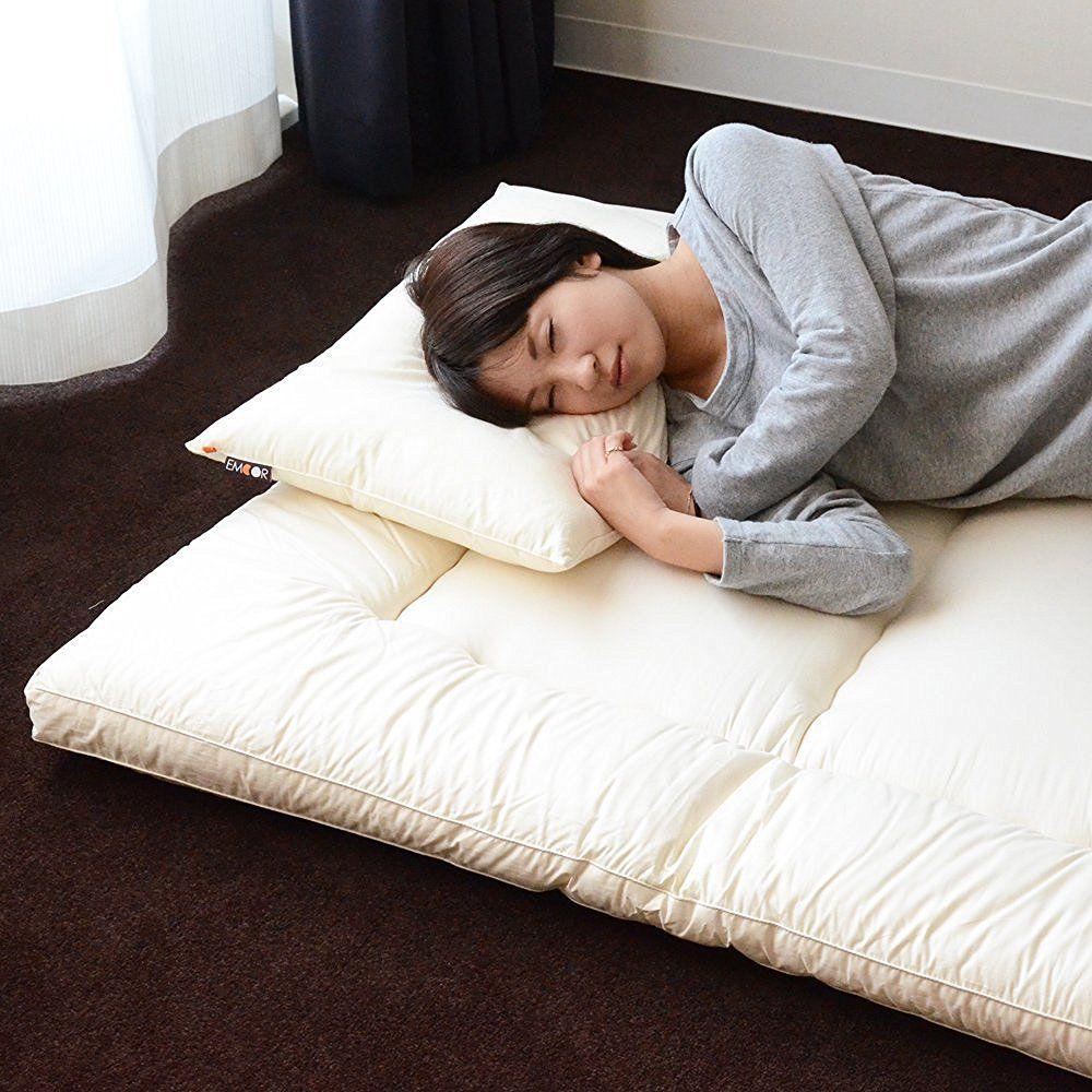 Shikibuton Stuffed with French Wool Futon mattress