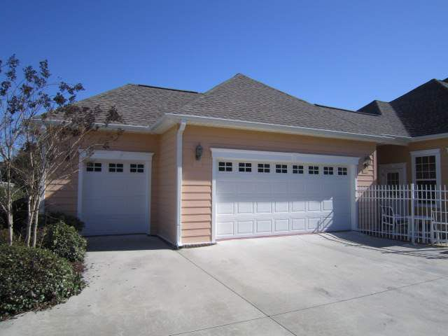 Golf Cart Garage Off The Regular Garage To Use As A Storage Shed